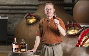 Chris Morris, master distiller for Woodford Reserve