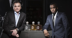 Sean Combs and Larry Schwartz