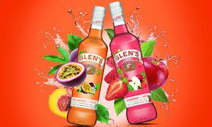 Glen's Vodka Flavours