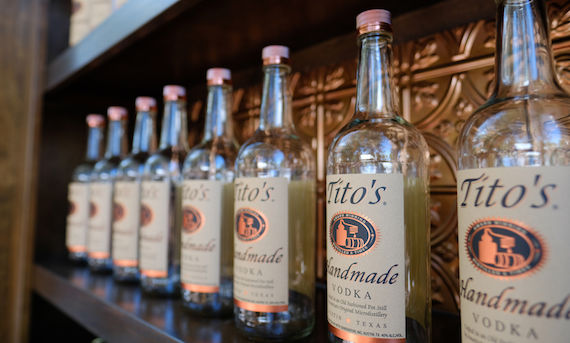 Titos Handmade Vodka New Zealand